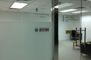 マレーシア到着早々、留学エージェントを訪問!