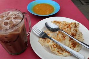 マレーシアの朝食はロティチャナイを食べとけ!