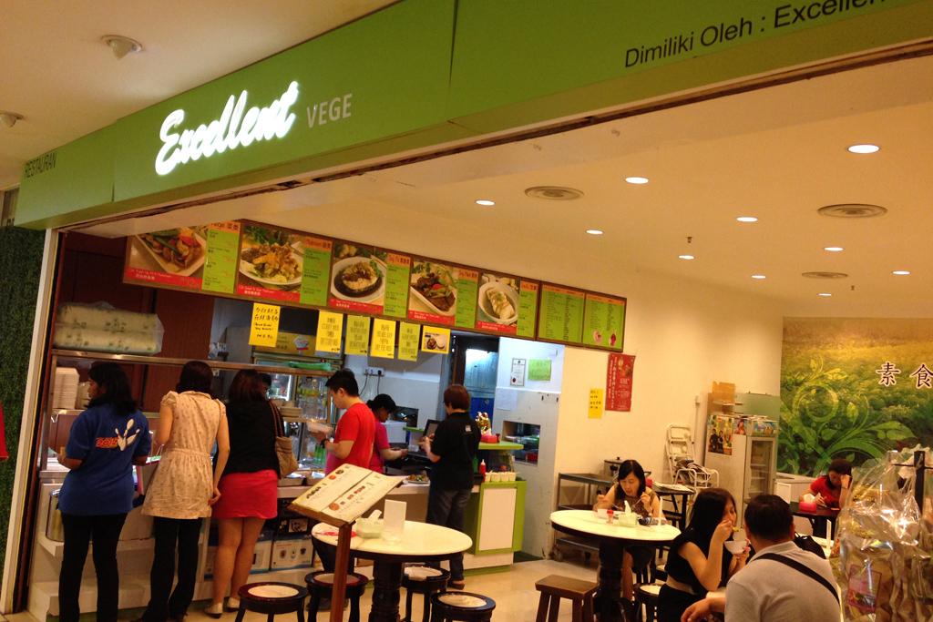 マレーシアのベジタリアン料理