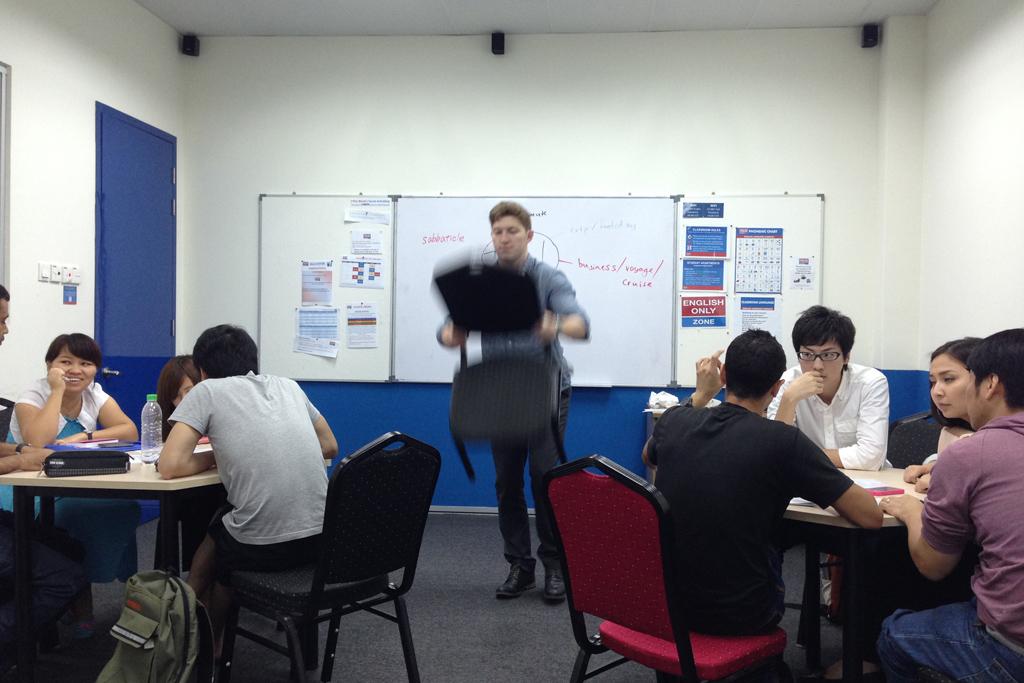英語の先生