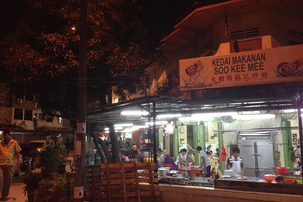 特大エビソバで有名なSoo Kee Restaurant