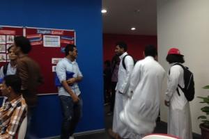 毎週金曜はイスラム教徒の生徒は正装してモスクで集団礼拝、だから午後の授業は遅刻してくる。