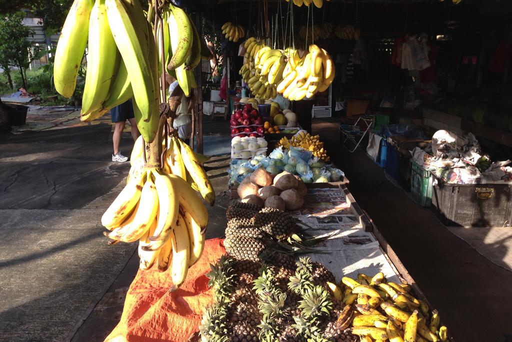 トウモロコシサイズのデカいバナナ
