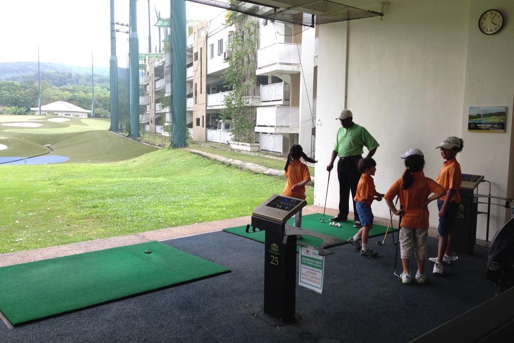 子供のゴルフスクール