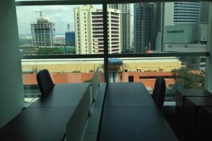 マレーシアのMSCオフィス物件を見学