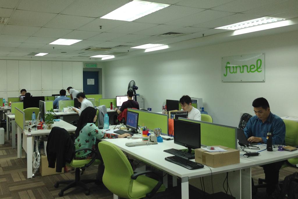 マレーシアfunnelのオフィス