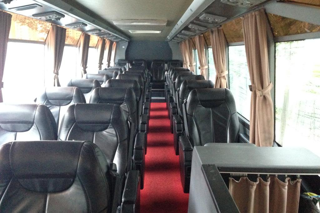 長距離バスのオデッセイの座席