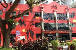 シンガポールのコワーキングスペースHub Singaporeは驚くほど高かった。