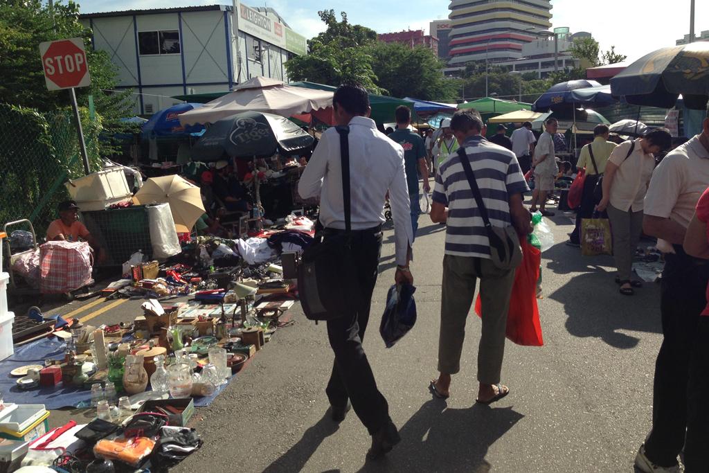 シンガポールの泥棒市場