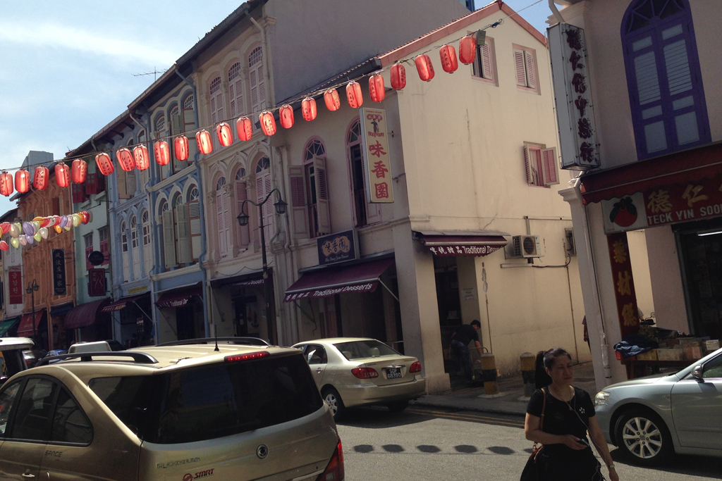 シンガポールのチャイナタウンのかき氷 味香園甜品 Mei Heong Yuen Dessert