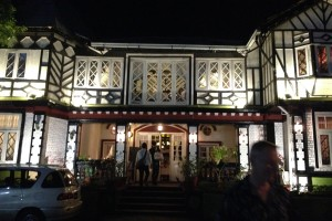 ミャンマーのアウンサン将軍のオフィスを改装したHouse of Memoriesでディナー!