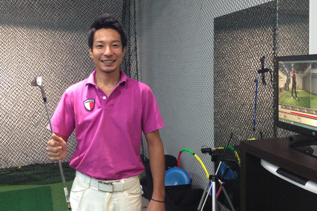 マレーシアのゴルフレッスンスクールK's Island Golf Academyの聖二先生