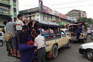 ミャンマー旅行でチャイナタウンやレーダンを観光してみる。