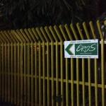 ミャンマーのマッサージ屋エロスの看板
