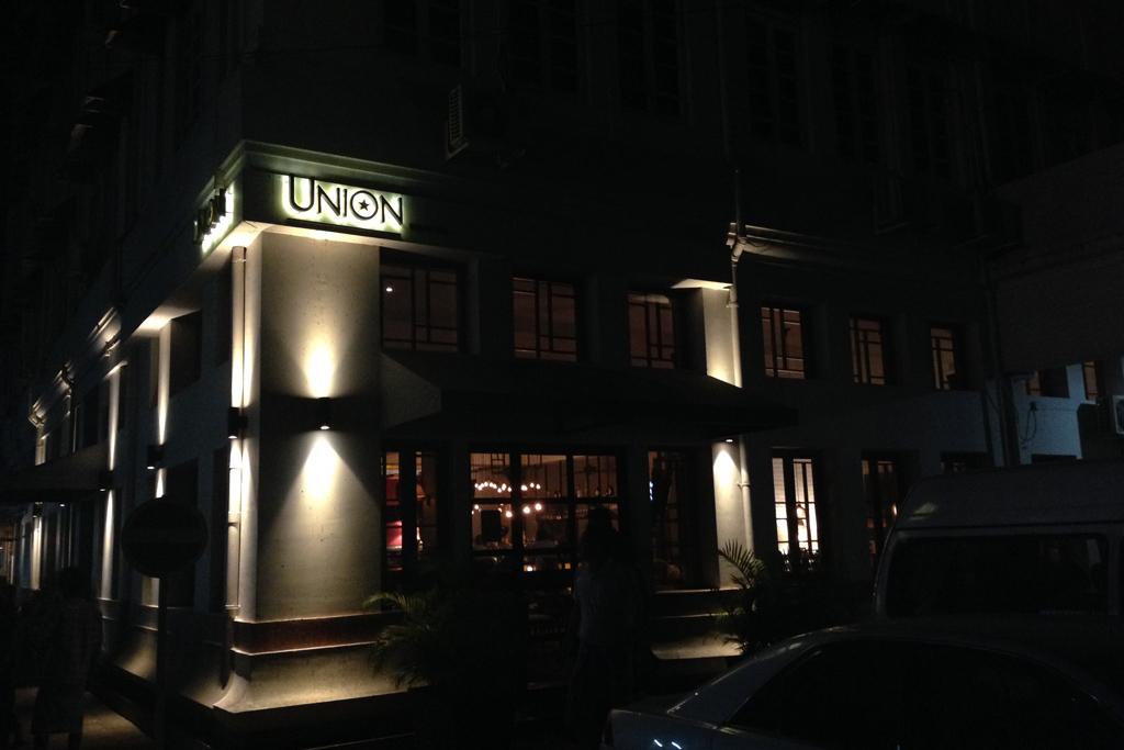 ミャンマーのUnion Bar and Grill
