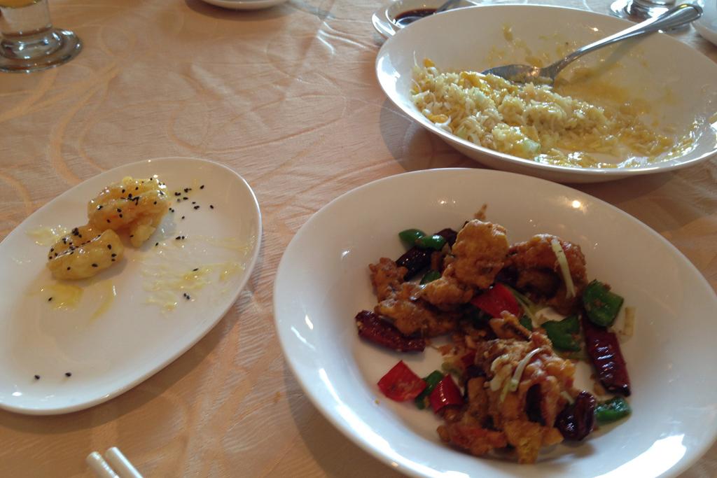 ヤンゴンのトレーダーズホテル2階の中華レストラン