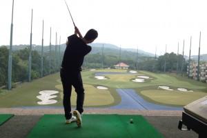 ゴルフ素人がマレーシアKLGCCで打ちっぱなし!