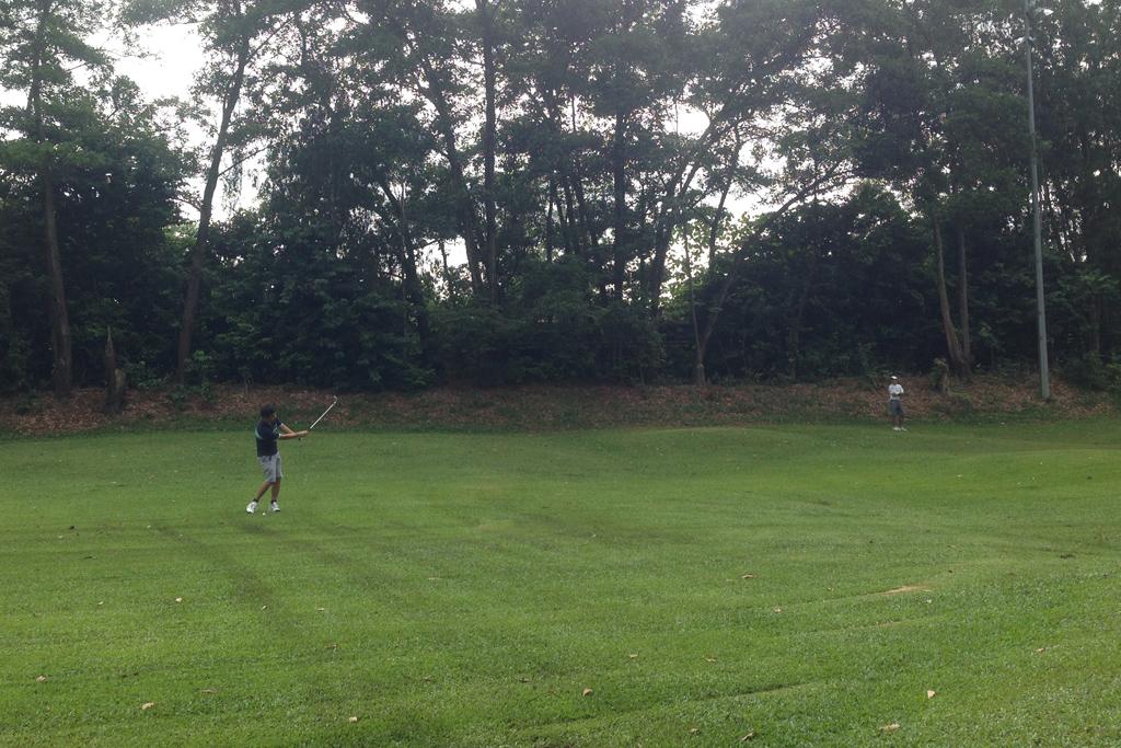 クアラルンプールのウタマでゴルフ