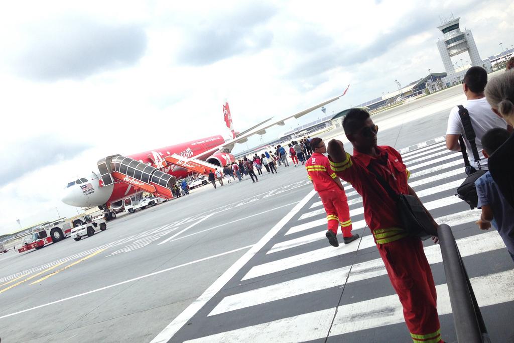 エアアジアでマレーシアから羽田へ