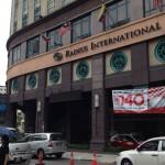クアラルンプール旅行のツアーでよく利用されるラディウスホテル