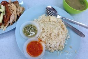 マレーシアのチキンライスも美味いです!