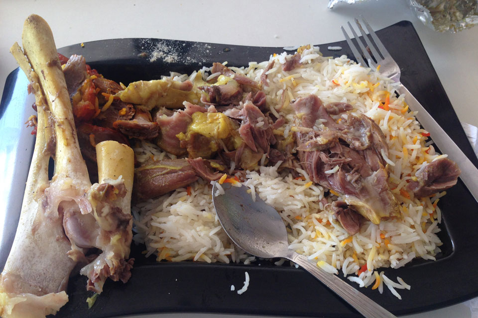 アラブ料理の食べ方