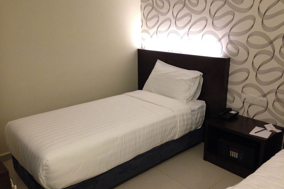 ブキビンタンのIZUMIホテルの部屋