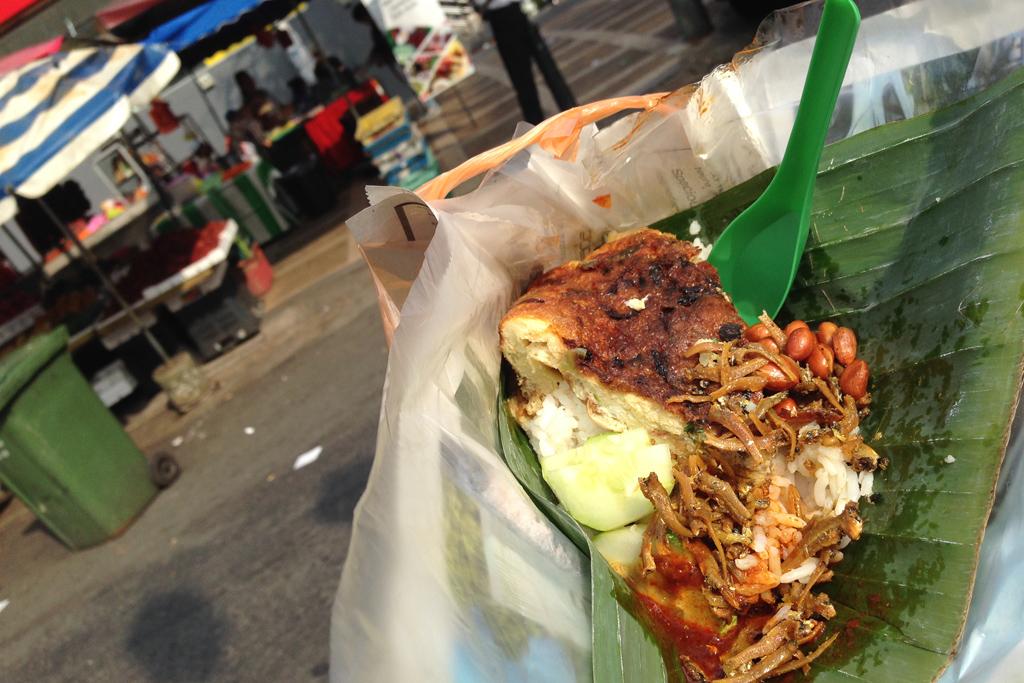 マレーシア料理のナシレマ