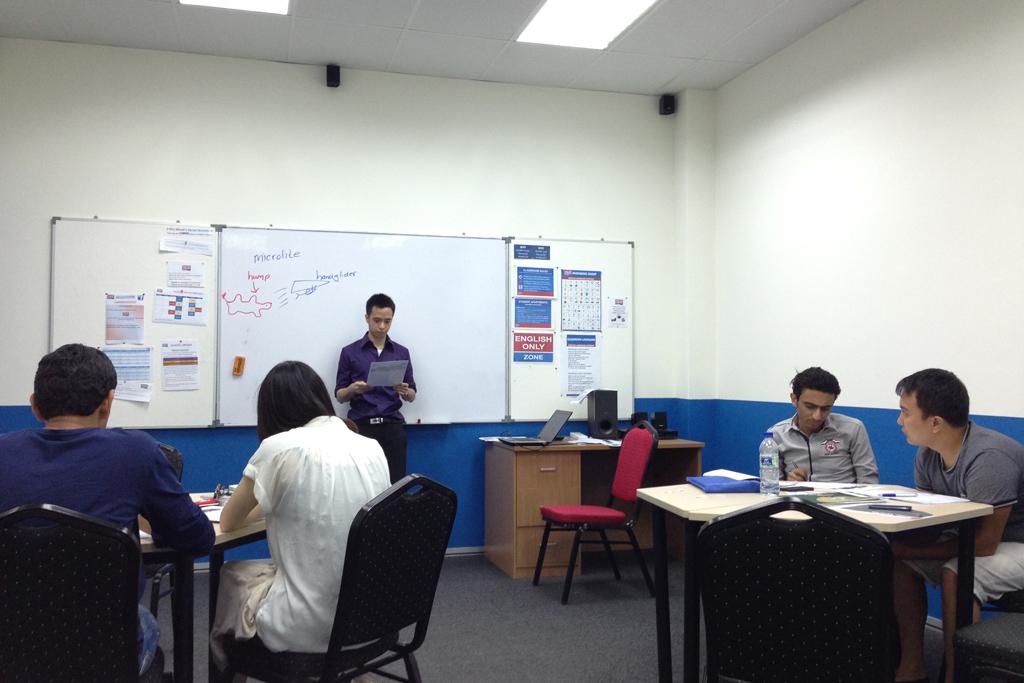 ブキビンタンのELCの授業風景