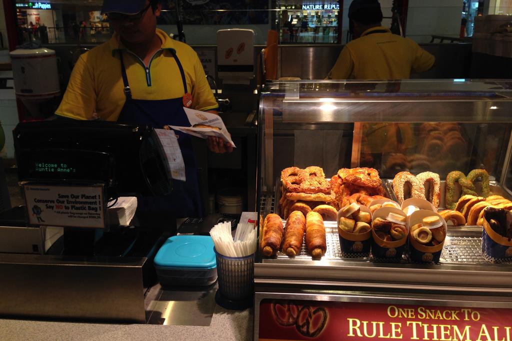 ドーナツのようなデザートのお店