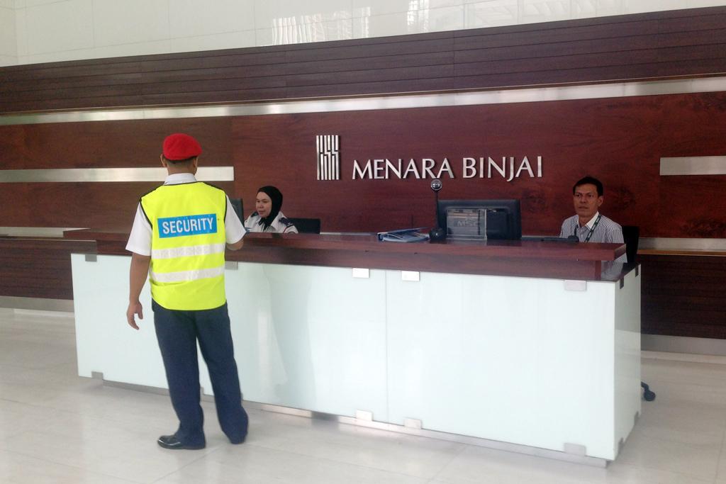 アンパンパークのMenara Binjai