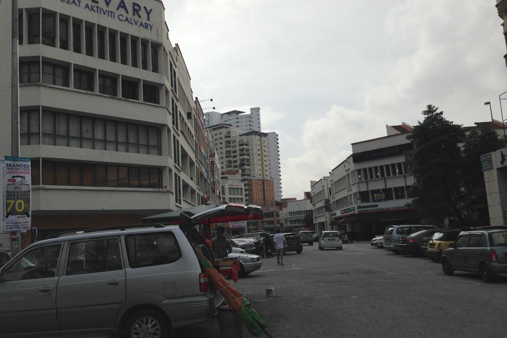マレーシアのスカイエデュの付近