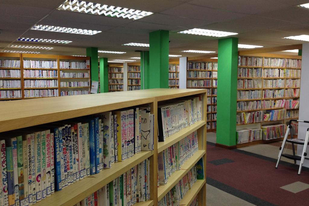 日本人会にある図書館
