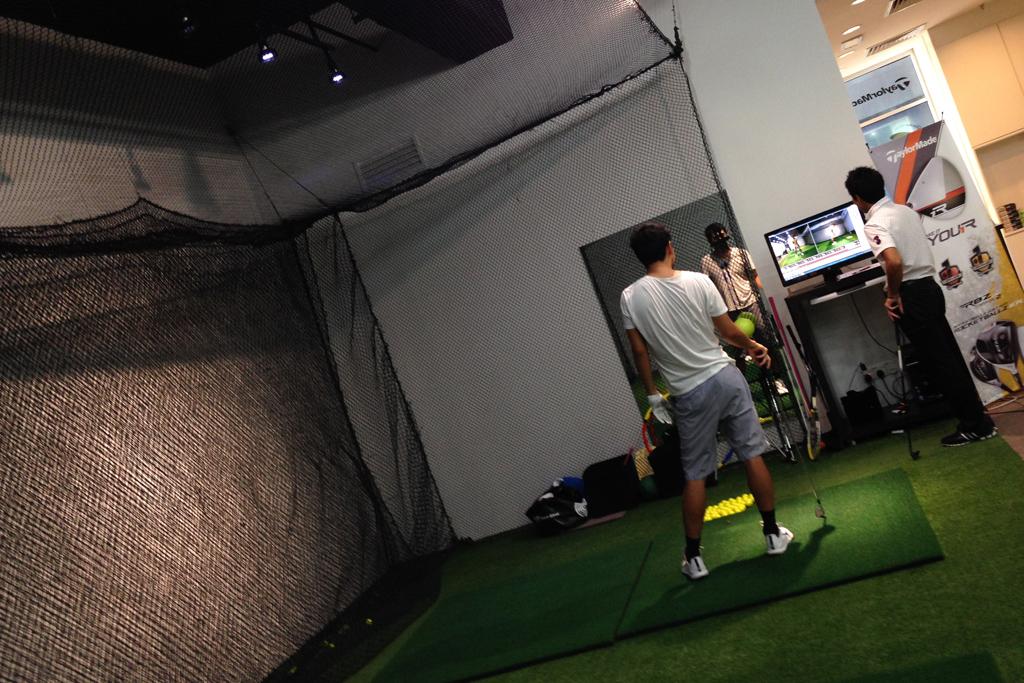 ゴルフの初レッスン