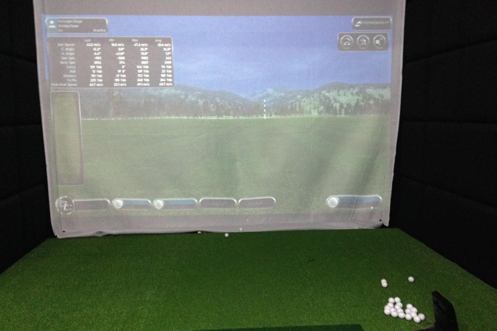 ゴルフゲームみたいで楽しい。