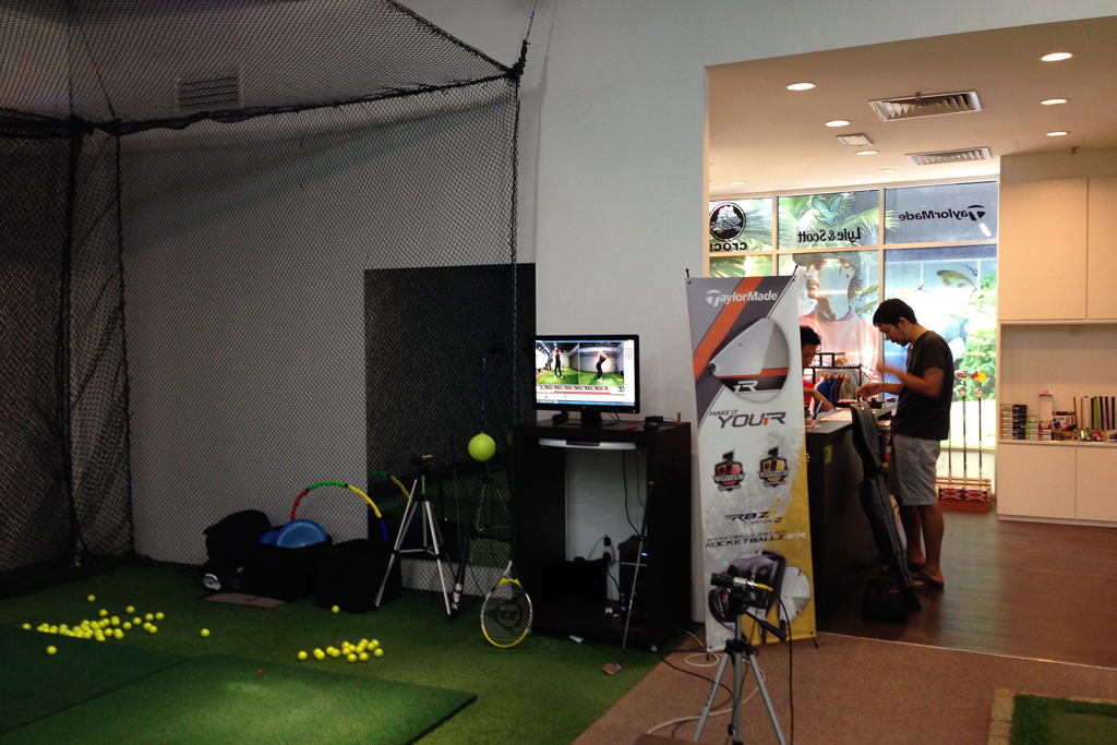 マレーシアのゴルフレッスンスクールK's Island Golf AcademyはモントキアラのPublikaにある