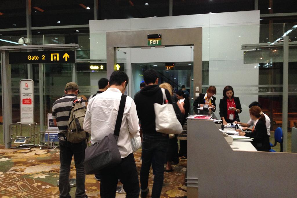 ミャンマーからマレーシアの帰国