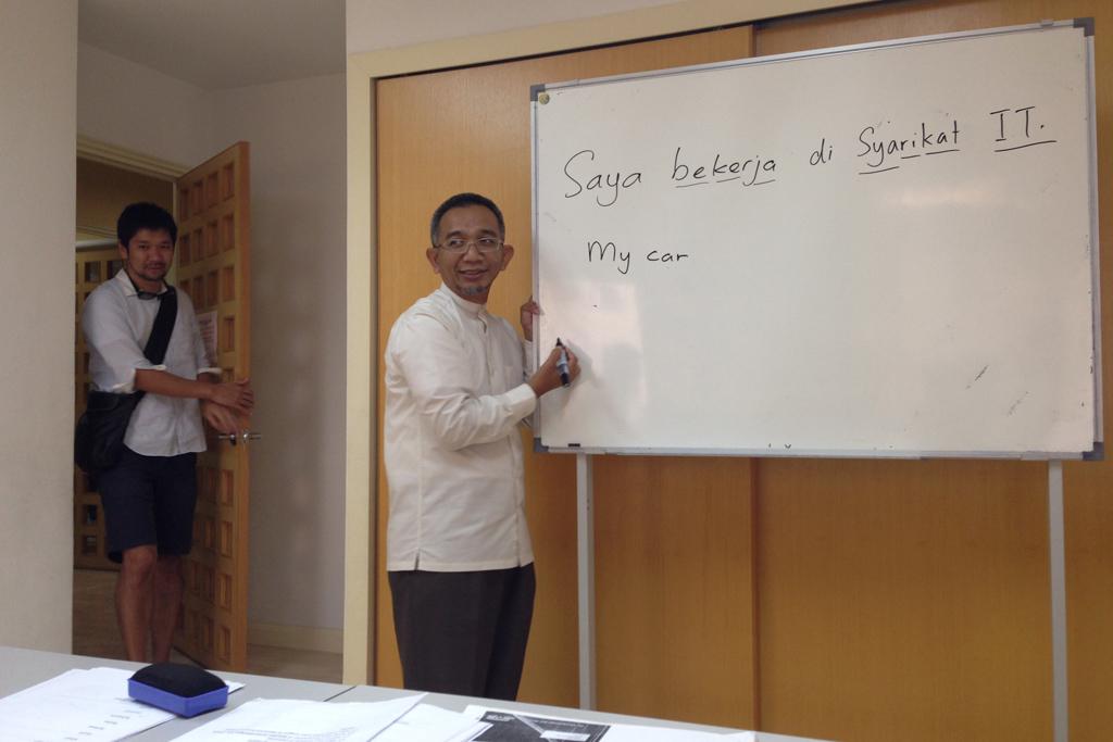 マレーシアの文化を学ぶ