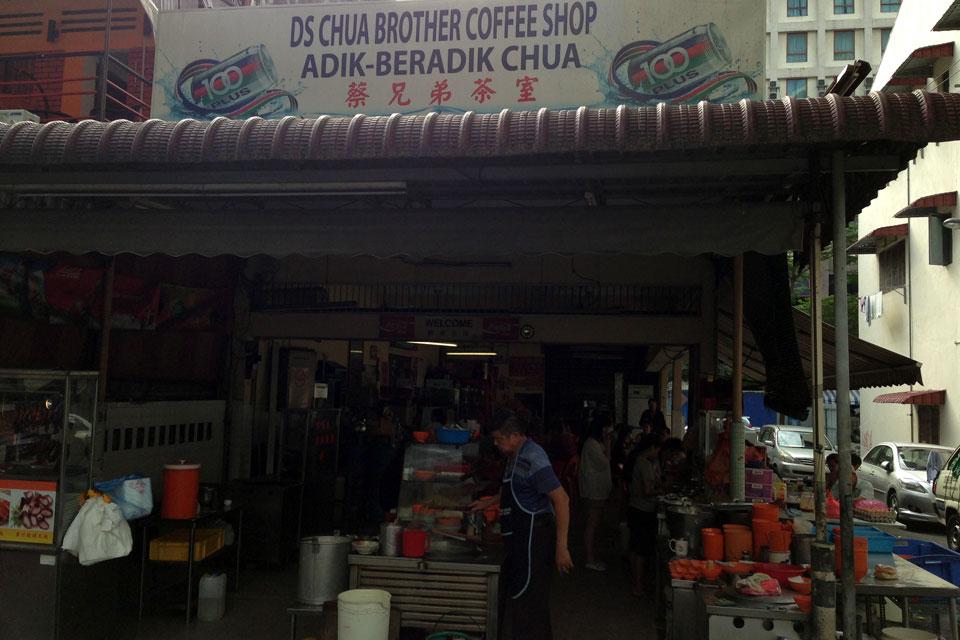 ブキビンタンで朝だけやってるヌードルがいつも行列